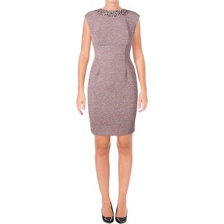 Eliza J Womens Cocktail Dress Cap Sleeves Knee-Length - 6