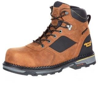 Georgia Boot Work Mens Hammer HD Composite Waterproof Brown GB00131
