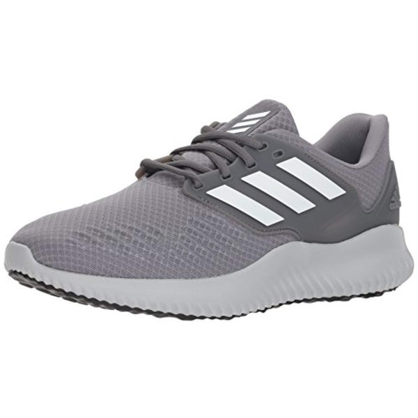0cccb56ccc92f Shop Adidas Men s Alphabounce Rc.2 Running Shoe White Grey - Free Shipping  Today - Overstock - 27122638