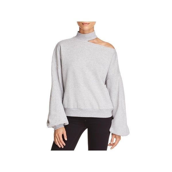 4d0748624a053b ... Tops     Long Sleeve Shirts. Two by Vince Camuto Womens Sweatshirt Cold  Shoulder Mock Turtleneck