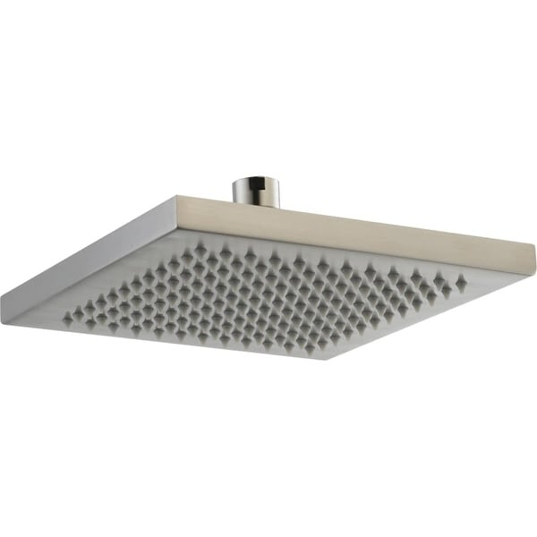 """Delta RP53496 2.5 GPM Arzo 7-11/16"""" Wide Metal Raincan Shower Head with Touch-Clean Technology"""