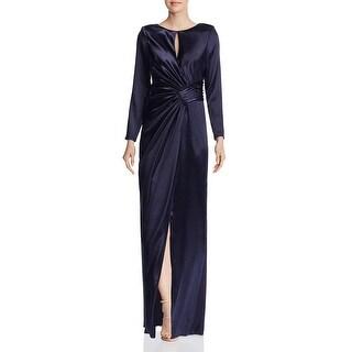 Link to Aidan Mattox Womens Formal Dress Metallic Keyhole Similar Items in Dresses