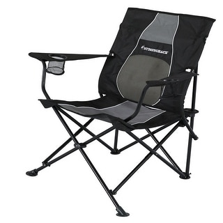Strongback Core Folding Camp Chair with Superior Back Support