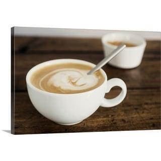 """Coffee"" Canvas Wall Art"