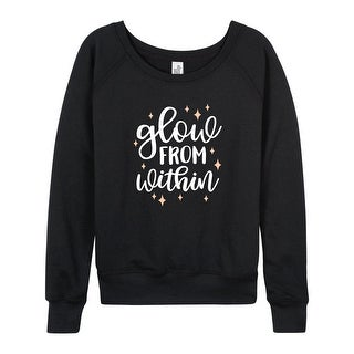 Glow From Within - Ladies Lightweight French Terry Pullover