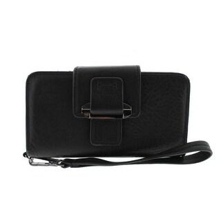 Kooba Womens PDA Wristlet Leather Pebbled