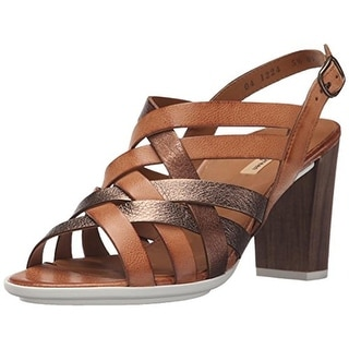 Paul Green Womens Hanes Dress Sandals Leather Metallic - 10.5 medium (b,m)