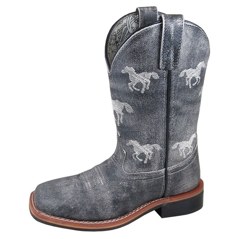 Smoky Mountain Childs Sienna Square Toe Boots