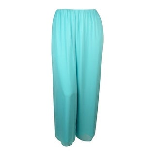 Alex Evenings Women's Stretch Chiffon Palazzo Pants