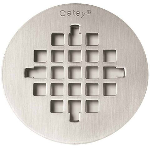 Oatey 42005 Stainless Steel Replacement Strainer Cover, 4-1/4""