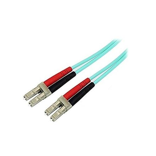 Startech - A50fblclc5 5M 10 Gb Aqua Multimoden50/125Lszh Fiber Cable Lc Aj836a