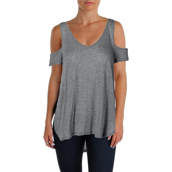 Guess Womens Casual Top Modal Cold Shoulder