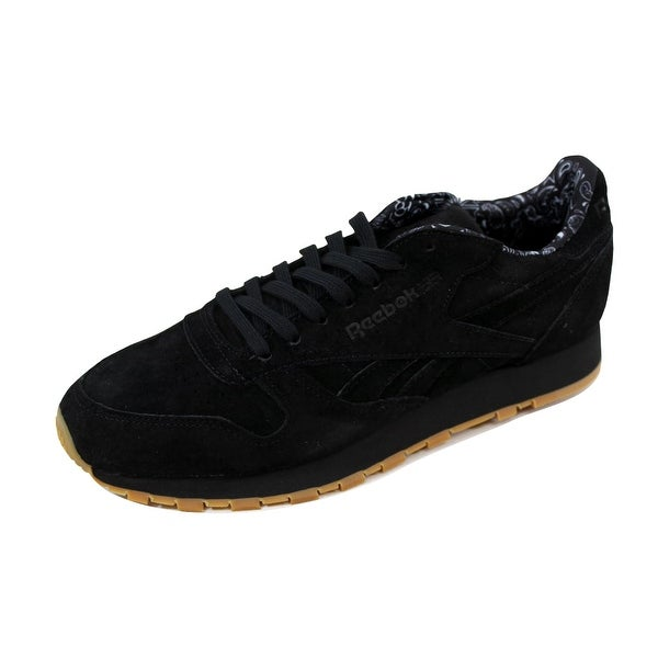 Reebok Men's Classic Leather TDC Graphite/Black-Blue-White BD3230 Size 9