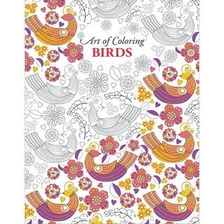 Leisure Arts-Art Of Coloring Birds