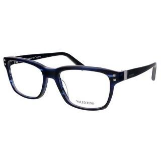 Valentino V2634 415 Blue Rectangular Valentino Eyewear