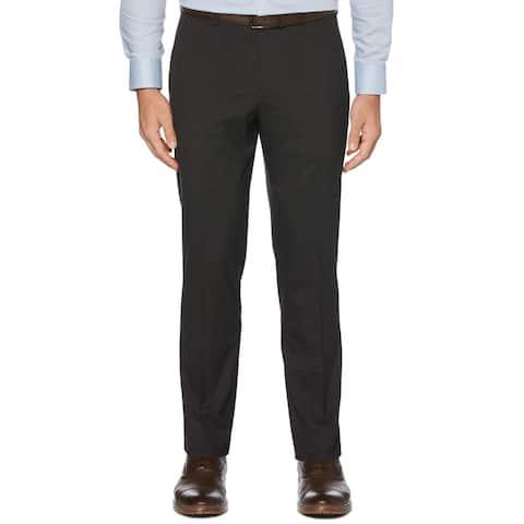 Perry Ellis Portfolio Mens Dress Pants Plaid Slim Fit - Port