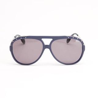 Blue Palladium Aviator Sunglasses
