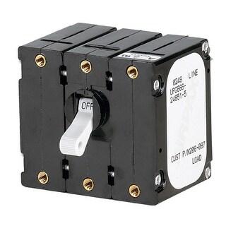 Paneltronics Breaker 50 Amp w/Reverse Polarity Trip Coil-White - 206-353