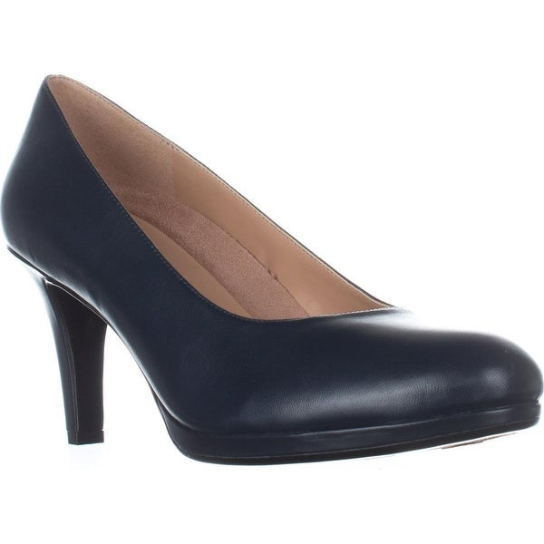 naturalizer Michelle Classic Dress Pumps, Navy Leather