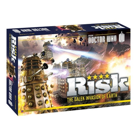 Risk Dr. Who Dalek Invasion Of Earth Board Game - multi