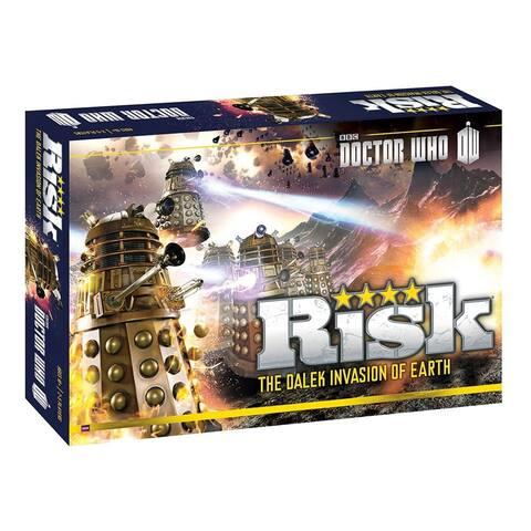 Risk Dr. Who Dalek Invasion Of Earth Board Game - Multi