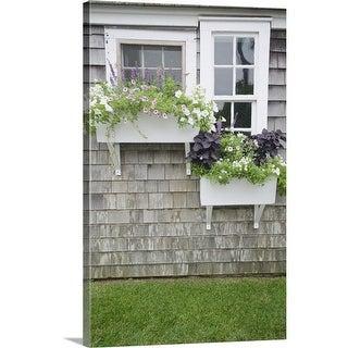 Window Boxes, Nantucket - Multi-Color