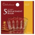 Celebrations 1265-2-71 Mini Replacement Bulbs, 3.5 Volt, Clear - Thumbnail 0