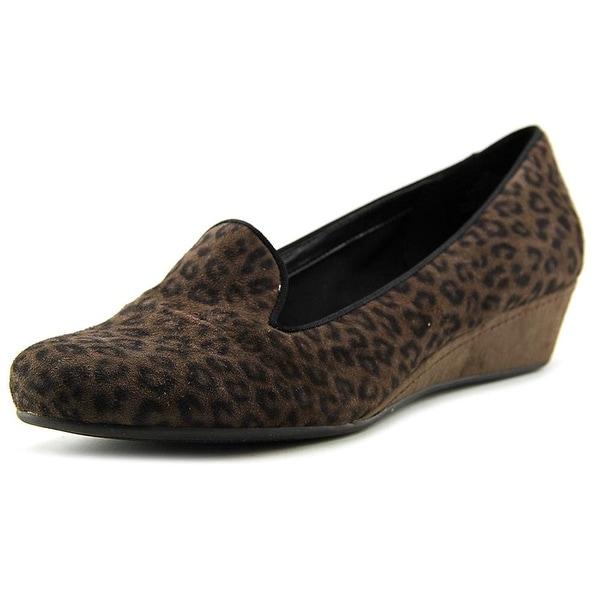 Easy Spirit Womens Davita Leather Closed Toe Wedge Pumps - 6.5