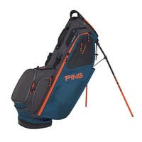 New Ping 2018 Hoofer 14 Golf Stand Bag (Teal / Graphite / Orange) - teal / graphite / orange