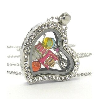 Heart Charm Locket Necklace for Cooking