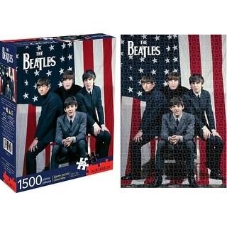 Aquarius 143370 Beatles Flag Puzzle, 1500 Piece