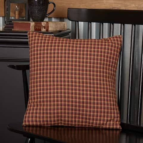 Patriotic Patch Fabric Pillow 16x16