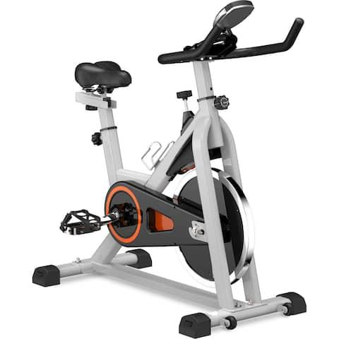 Merax Indoor Cycling Exercise Bike Adjustable Stationary Bike