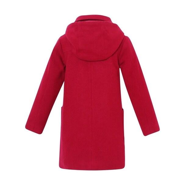 Osh Kosh B/'gosh Toddler Girls Double Breasted Faux Wool Jacket Size 2T 3T 4T