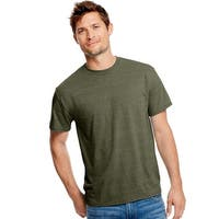 Hanes Men's X-Temp w/Fresh IQ Tri-Blend Performance Tee - Size - XL - Color - Military Heather