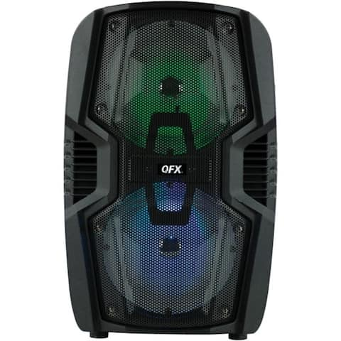 QFX PBX-268SM 2 x 6.5-Inch Portable Party Speaker