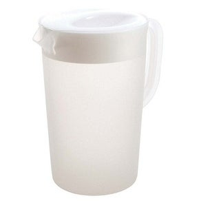 Rubbermaid 1777155R RED Pitcher 1 Gallon Pack Of 6