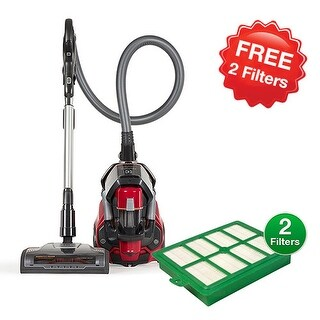 Electrolux EL4335B Canister Vacuum Cleaner with 2 FREE Replacement Filters