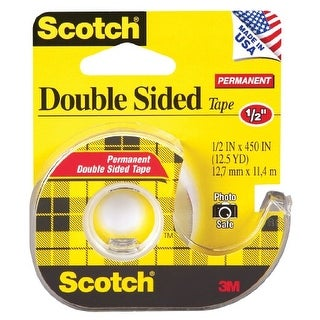 3M Scotch Double Sided Tape With Dispenser Double Sided Tape