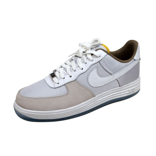 Nike Men's Lunar Force 1 QS White/White Brazil 635274-100