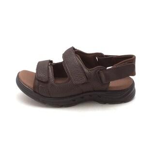 Propét Mens Randy Leather Open Toe Fisherman Sandals - 7