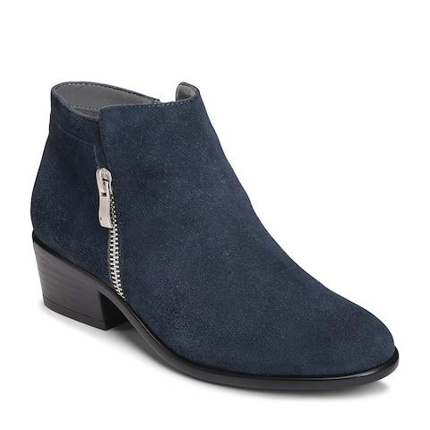 Aerosoles Womens Mythology Leather Almond Toe Ankle Fashion Boots
