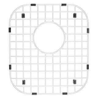 "Karran GR-3001 Stainless Steel Bottom Grid Fits E-350, U-5050 - 12-1/2"" x 14-5/8"""