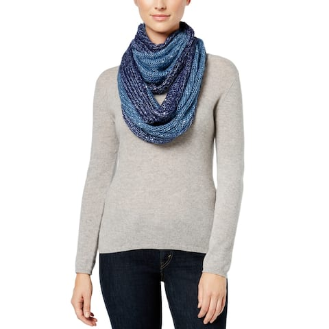 I.N.C Galaxy Infinity Loop Scarf, Navy, One Size - One Size
