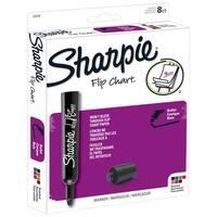 Sharpie Flip Chart Markers, Bullet Tip, Assorted Colors, Set of 8
