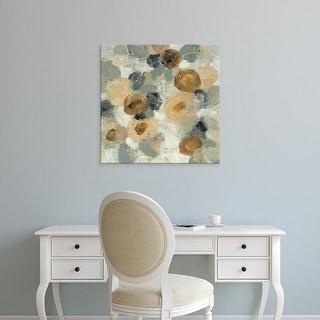 Easy Art Prints Silvia Vassileva's 'Neutral Floral Beige III' Premium Canvas Art