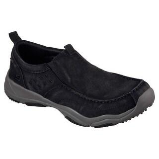 Skechers 64970 BKCC Men's LARSON- BOLTEN Loafers