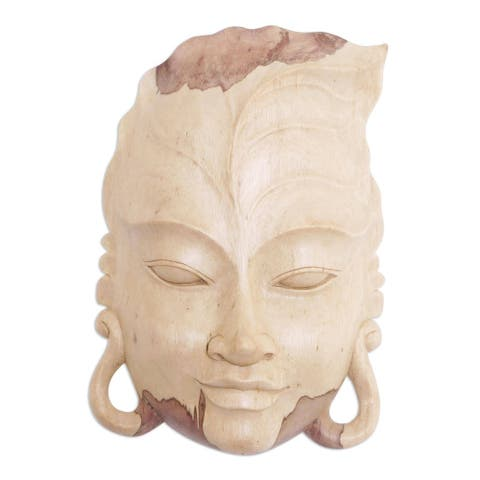 Handmade Forest Gaze Wood Mask (Indonesia)