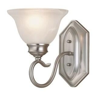 Millennium Lighting 6171 Devonshire 1 Light Indoor Wall Sconce - satin nickel