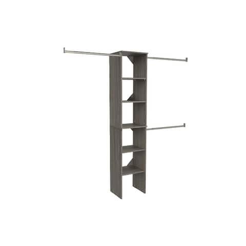 ClosetMaid SuiteSymphony Starter Closet 16-inch Wide Tower Kit